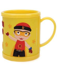 Mighty Raju Print Mug Yellow -  300 ml