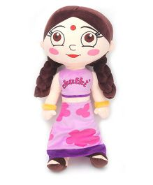 Chutki Soft Toy Pink Purple - 50 cm