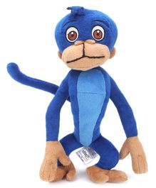 Jaggu Soft Toy Blue - 8 Inches
