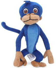 Jaggu Soft Toy Blue - 15 Inches