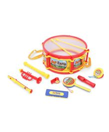 Baby Drum Set Joy Band Multicolor - Set Of 9