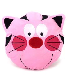 Playtoons Cat Face - Dark Pink