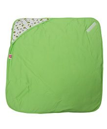 Morisons Baby Dreams Hooded Baby Wrapper - Green