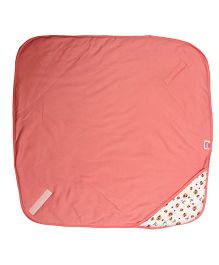 Morisons Baby Dreams Hooded Baby Wrapper - Pink