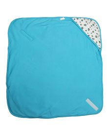Morisons Baby Dreams Hooded Baby Wrapper - Blue
