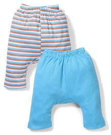 Morisons Baby Dreams Diaper Leggings Pack of 2 - Blue