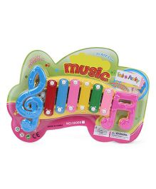 Musical Xylophone Toy - Yellow Blue