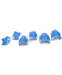 Knee Guard Star Print - Blue