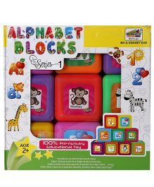 Mansaji Alphabet Blocks Set - 9 Pieces