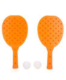 Mansaji Racket Set - Orange White