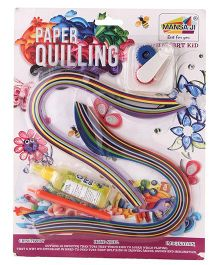 Mansaji Paper Quilling Blister Multicolor - 200 Paper Strips