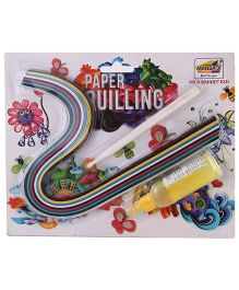 Mansaji Paper Quilling Blister Multicolor - 100 Paper Strips
