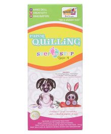 Mansaji Paper Quilling Animals Step By Step Series 1