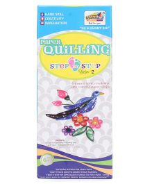Mansaji Paper Quilling Birds Step By Step Series 2
