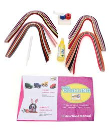 Mansaji Paper Quilling Kit - Multi Color