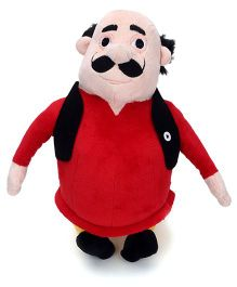 Motu Patlu Motu Plush Toy Red - 12 Inches