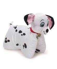Disney Dalmatians Folding Plush Pillow - White