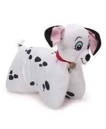 Disney Dalmatians Folding Plush Pillow - White