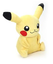 Pokemon Pikachu Plush Toy Yellow - 31 cm