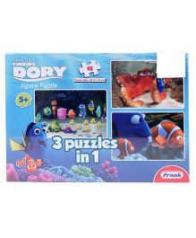 Frank 3 In 1 Finding Dory Puzzle Multicolor - 48 Pieces
