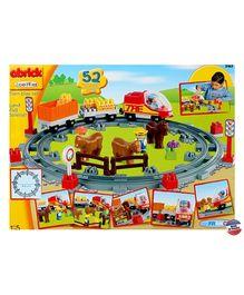 Ecoiffier Abrick Train Play Set