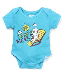 Zeezeezoo All Is Well Onesie - Light Blue