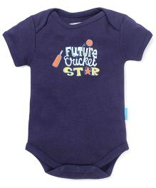 Zeezeezoo Future Cricket Star Onesie  - Dark Blue