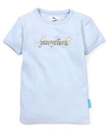 Zeezeezoo Dramebaaz Tshirt  - Light Blue