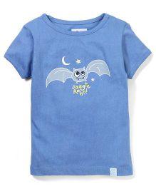 Zeezeezoo Jaagte Raho T-Shirt  - Blue