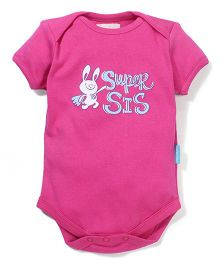 Zeezeezoo Super Sis Onesie - Pink