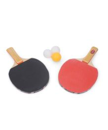 Table Tennis Set - Black Red