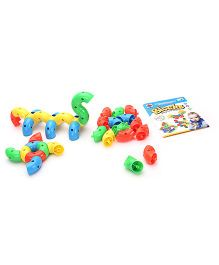 Play & Learn Blocks Game Multicolor - 38 Pieces