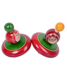 Desi Toys Chakar Red And Green - Pack Of 2