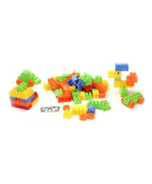 Play And Learn Blocks Multicolor - 100 pIECES