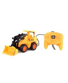 Remote Control Super Power Crane Truck - Yellow