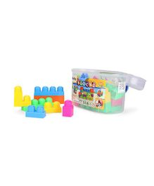 Puzzle Blocks Game Multicolor - 35 Pieces