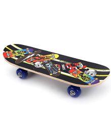 Skateboard Skate Print - Multicolor