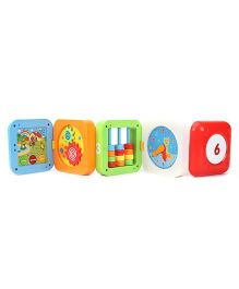 7 In 1 Amazing Cube Shape Toy - Multicolour