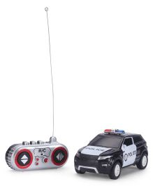 Remote Controlled Police Car - Black