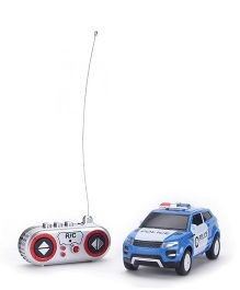 Remote Controlled Police Car - Blue