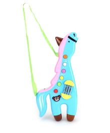 Horse Shape Musical Toy - Blue