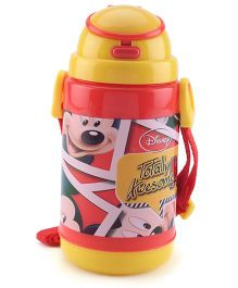 Mickey Mouse And Friends Sipper Bottle Yellow Red - 300 ml