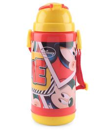 Mickey Mouse And Friends Sipper Bottle Yellow Red - 400 ml