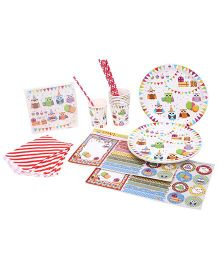 Shopaparty Owl Party Pack - Multicolor