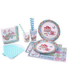 Shopaparty Tea Party Pack - Multicolor