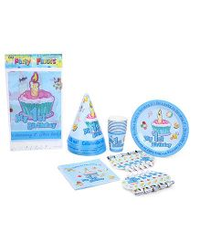 Shopaparty My 1st Birthday Party Pack - Blue
