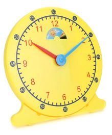 Teaching Clock - Yellow