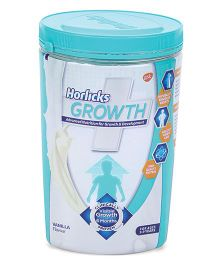Horlicks Growth Plus Health & Nutrition Drink Vanilla Flavor - 400 gm Pet Jar
