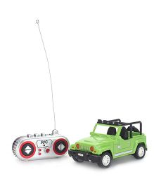 Remote Controlled Jeep - Green