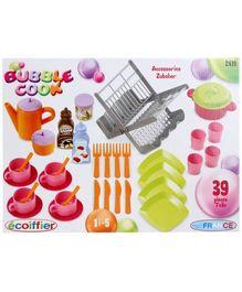 Ecoiffier Bubble Cook Box - 39 Pieces